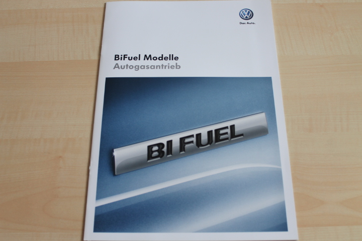 VW Golf VI + Plus - BiFuel - Prospekt 03/2010