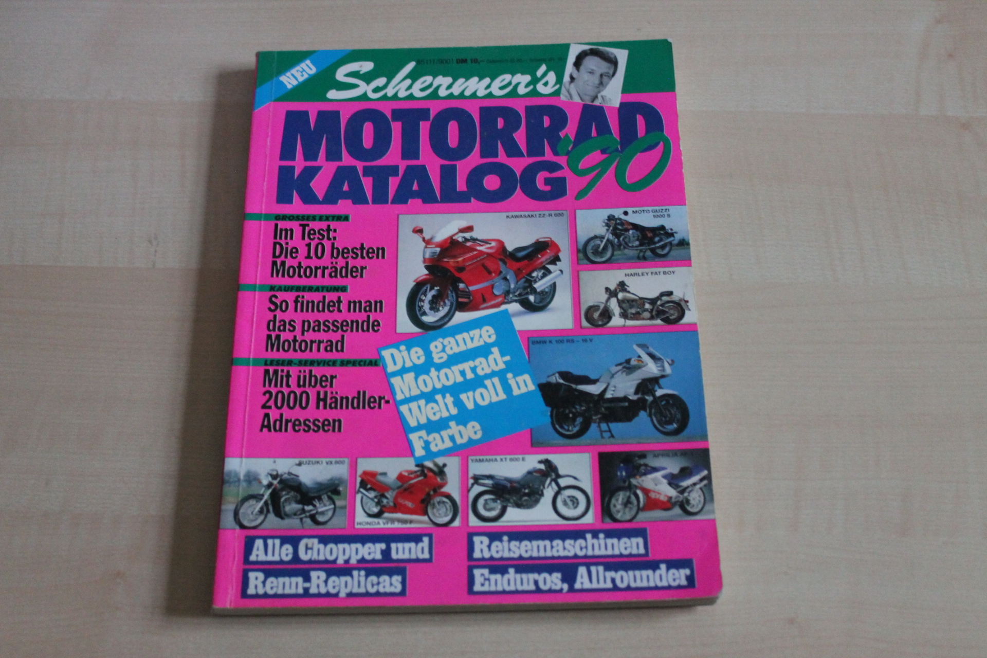 152322 schermers motorrad katalog mo 1990 ebay. Black Bedroom Furniture Sets. Home Design Ideas