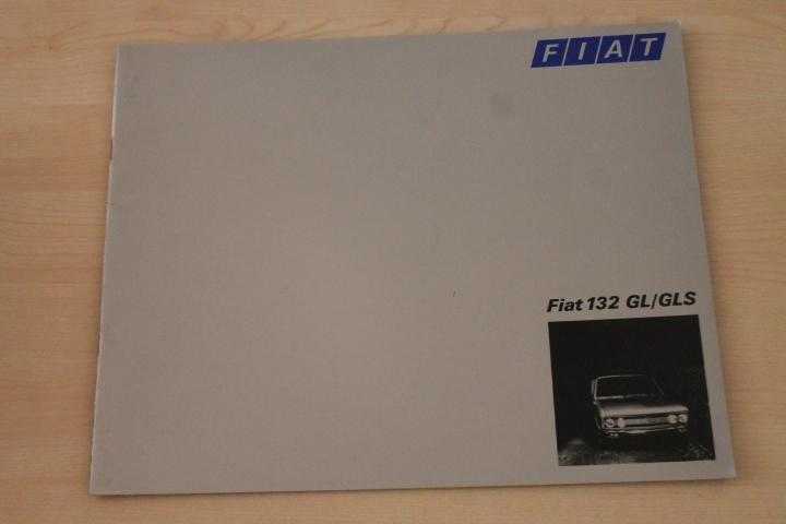 153132 fiat 132 gl gls prospekt 04 1974 ebay. Black Bedroom Furniture Sets. Home Design Ideas