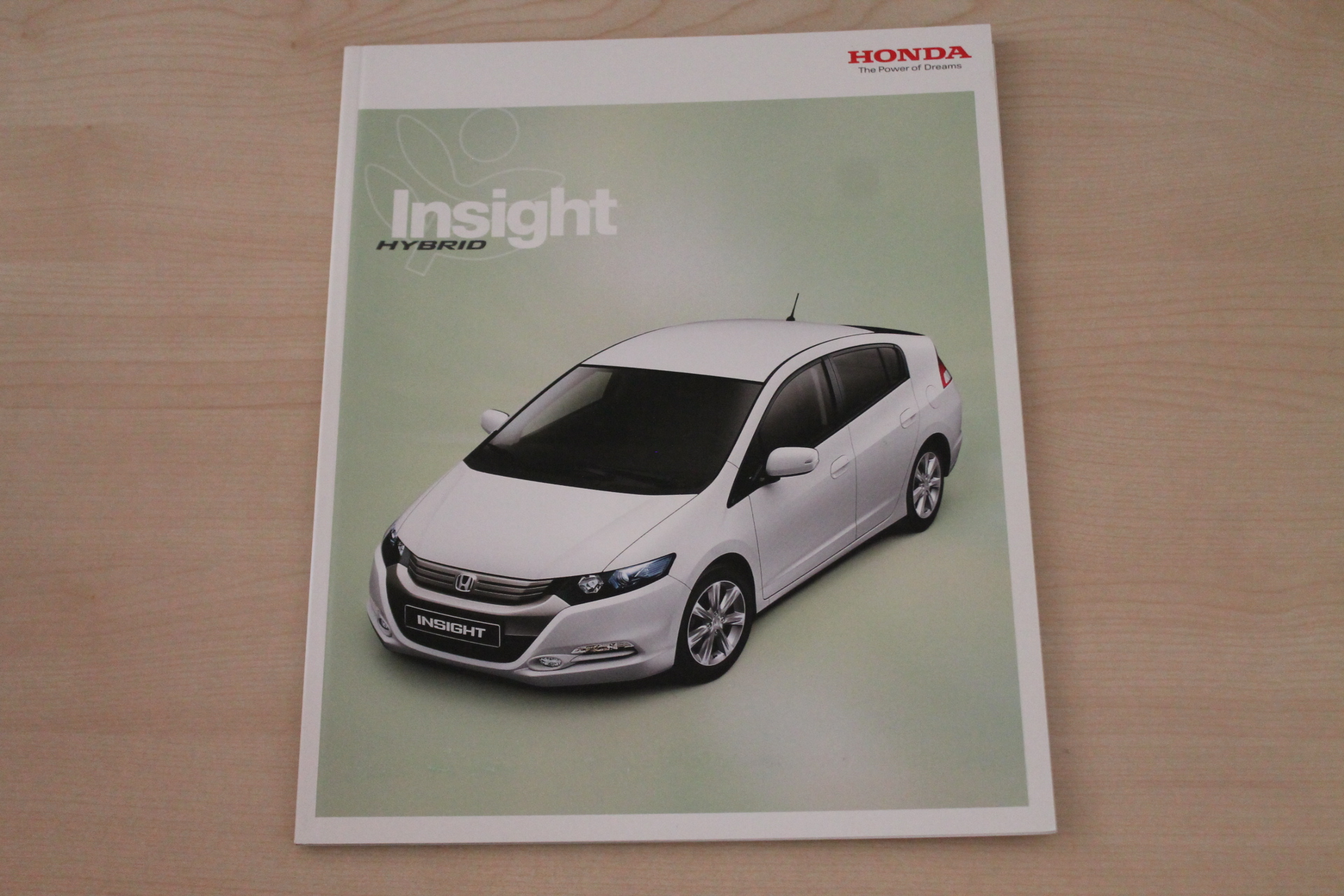 Honda Insight Prospekt 08/2010