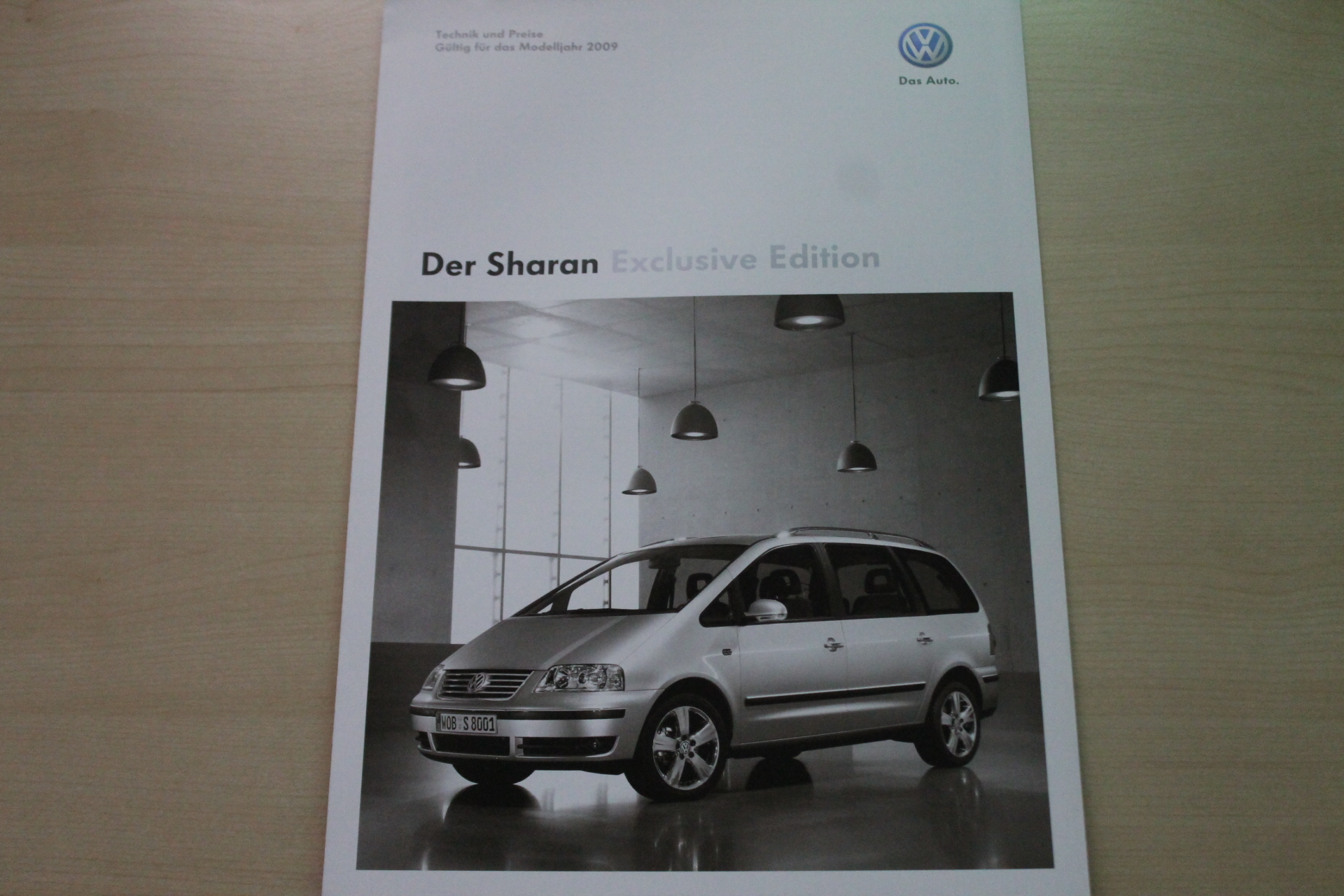 VW Sharan Exclusive Edition - Technik & Preise & Extras - Prospekt 11/20