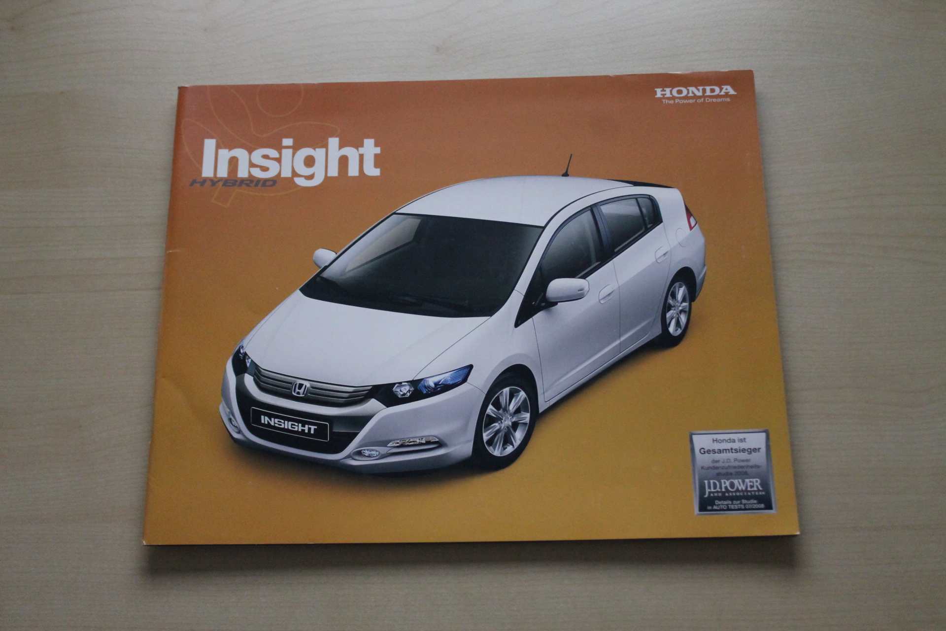 Honda Insight Prospekt 03/2009