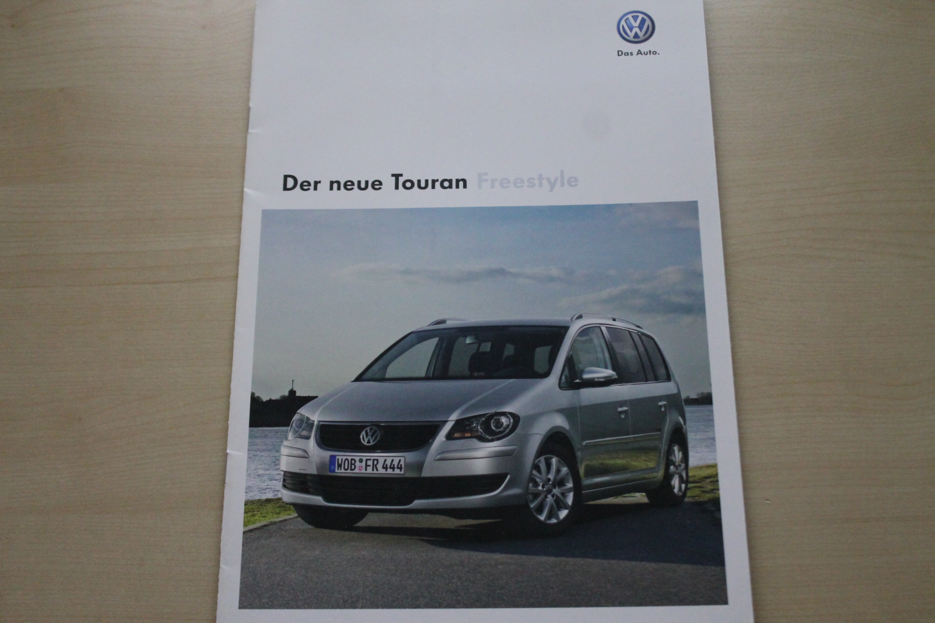 VW Touran - Freestyle - Prospekt 05/2009