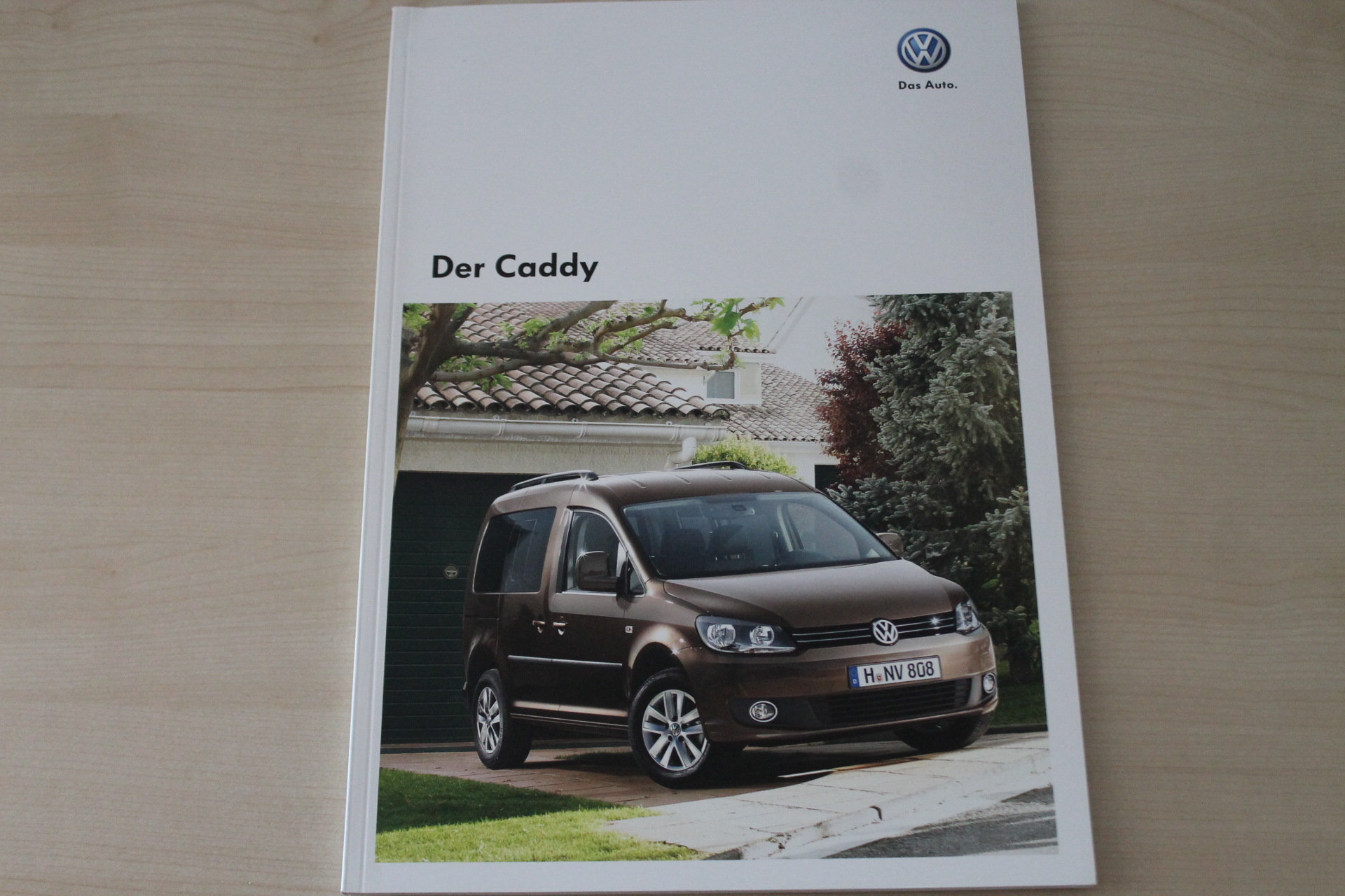 VW Caddy Prospekt 05/2011