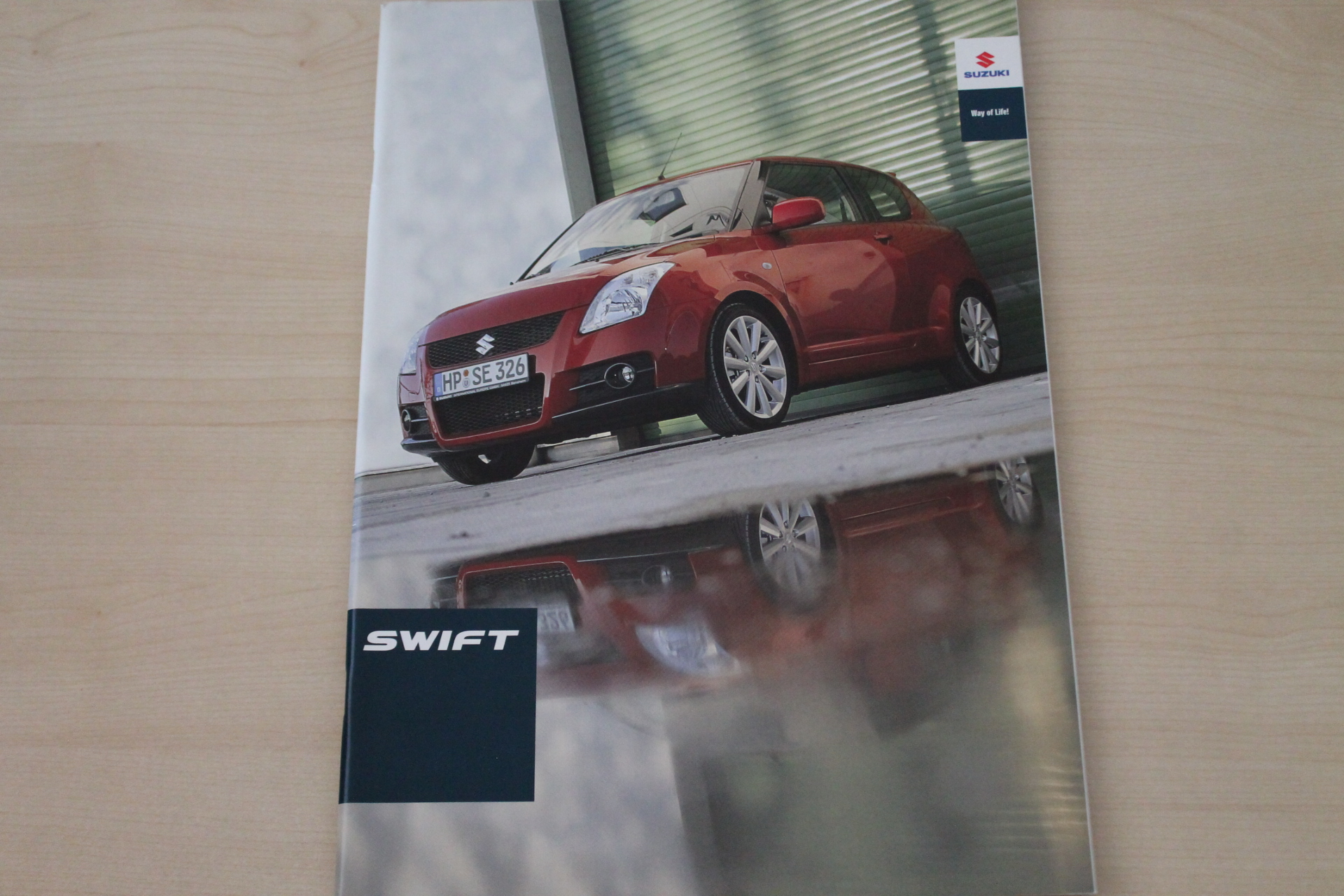 Suzuki Swift Prospekt 04/2008