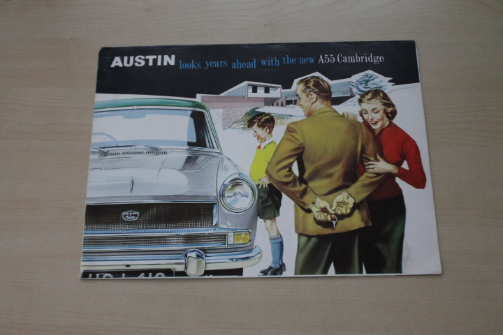 Austin A55 Cambridge Prospekt 196?