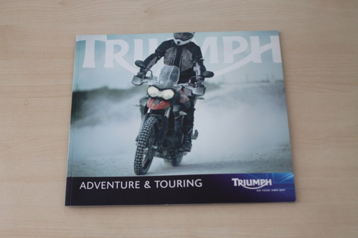 Triumph Tiger 800 1050 Sprint GT ST - UK - Prospekt 2010