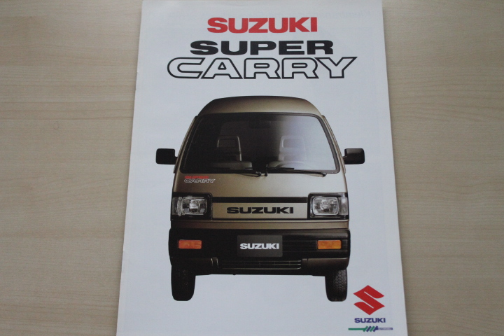 Suzuki Super Carry Prospekt 198?