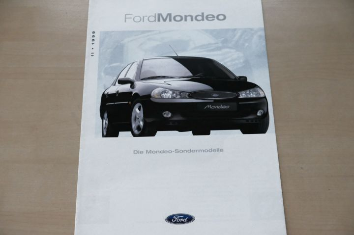 Ford Mondeo - Style - Prospekt 07/1999