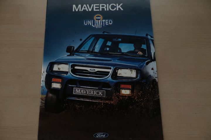 Ford Maverick Prospekt 02/1996