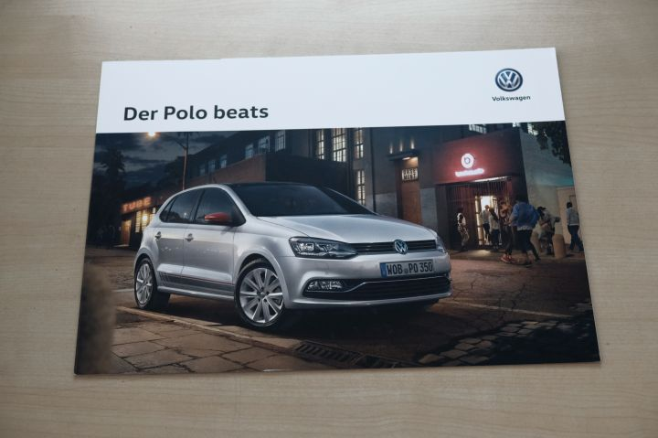 VW Polo 6R - beats - Prospekt 03/2016