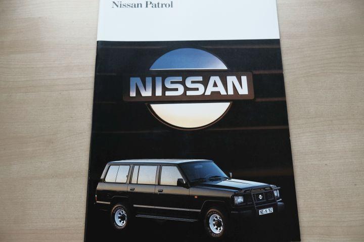 nissan patrol testberichte und prospekte - autotestversand