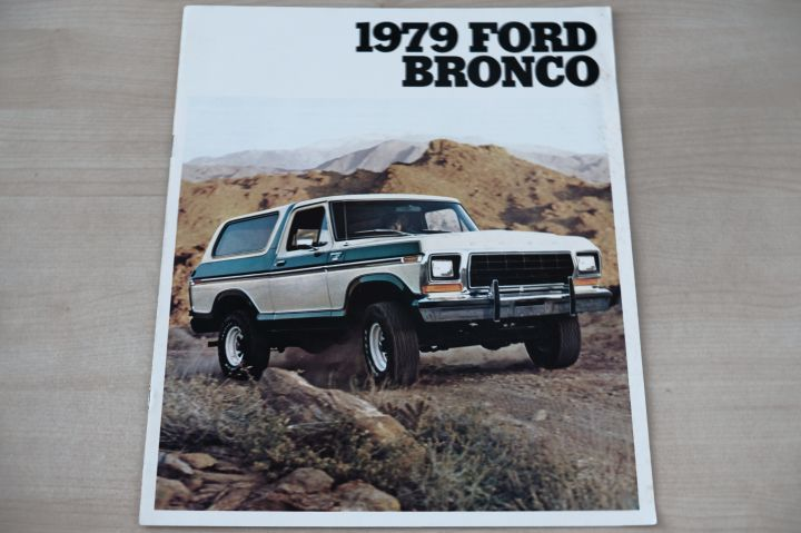 Ford Bronco - USA - Prospekt 07/1978
