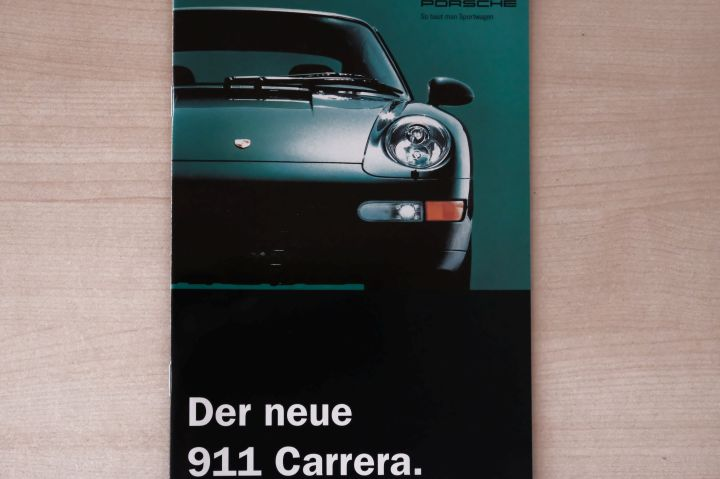 Porsche 911 993 Carrera 272PS Prospekt 10/1993
