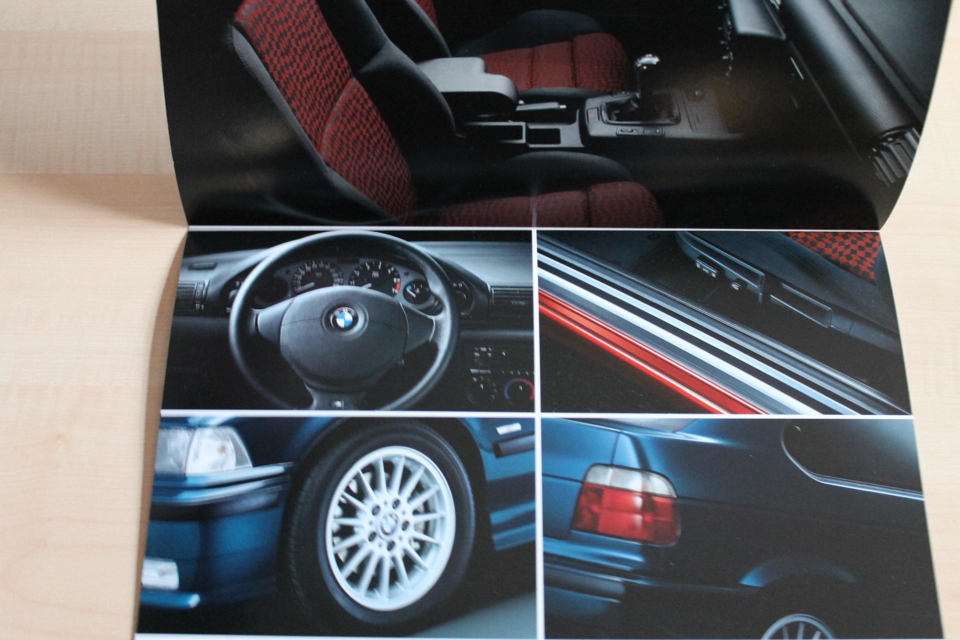 100750 bmw 3er e36 compact sport edition prospekt 02 1999 ebay. Black Bedroom Furniture Sets. Home Design Ideas